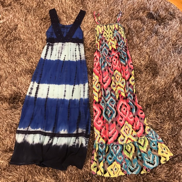 Justice Other - 🌟JUSTICE Bundle Size 8 ~blue Tie-dye & Multicolor